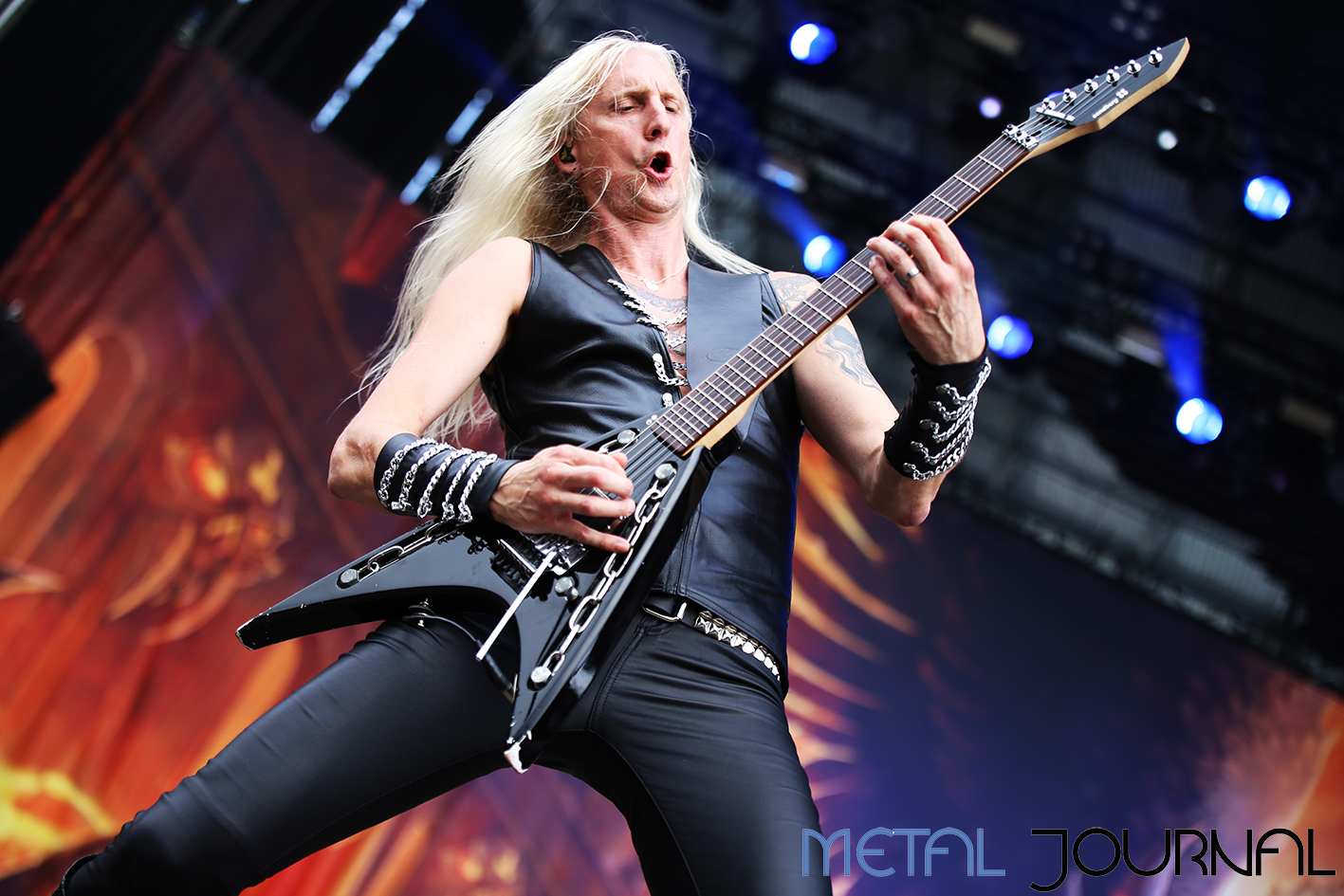 hammerfall - metal journal rock fest barcelona 2019 pic 2