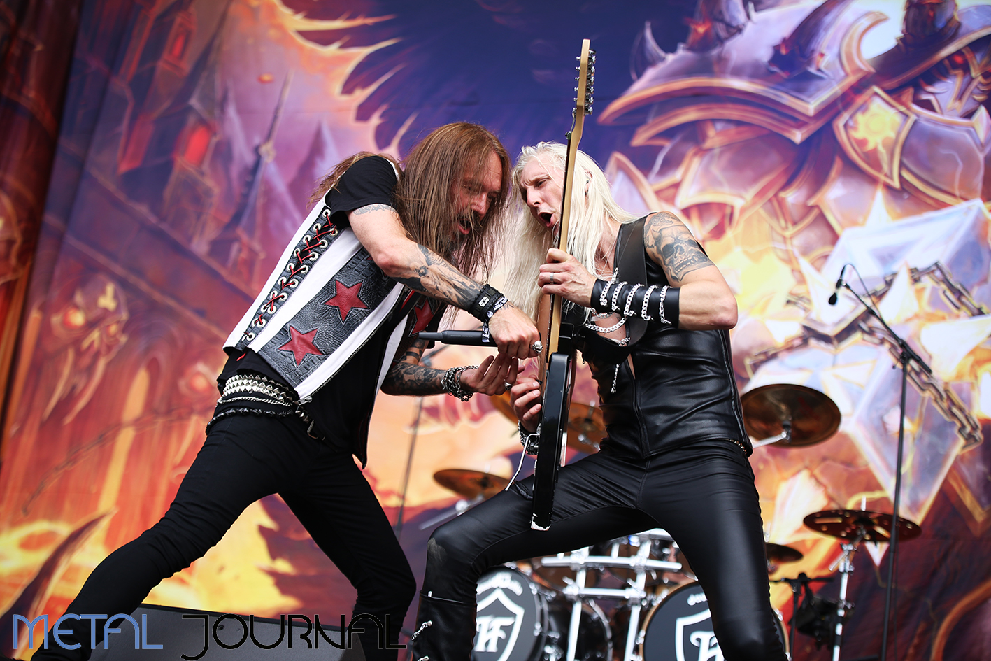 hammerfall - metal journal rock fest barcelona 2019 pic 4
