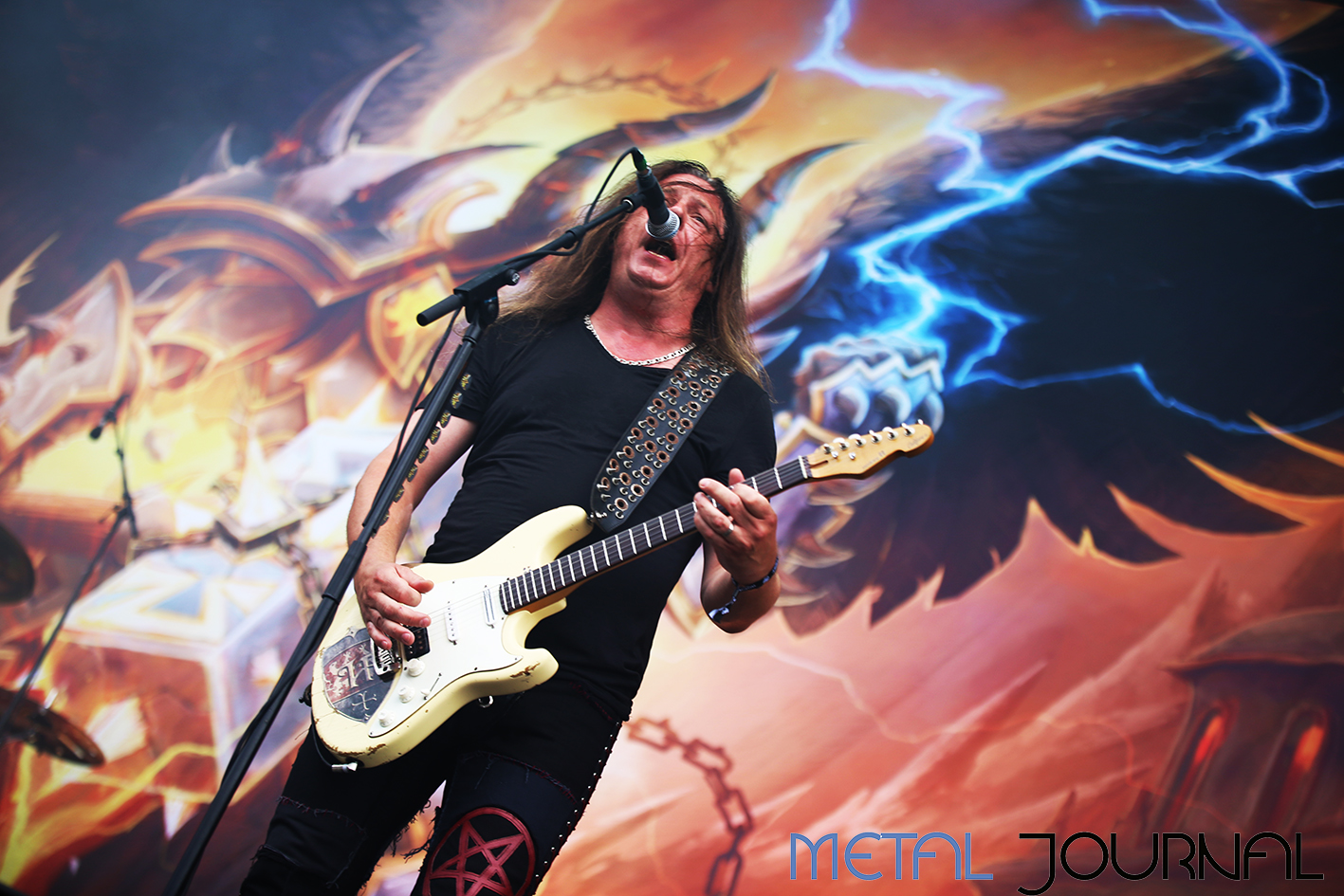 hammerfall - metal journal rock fest barcelona 2019 pic 5