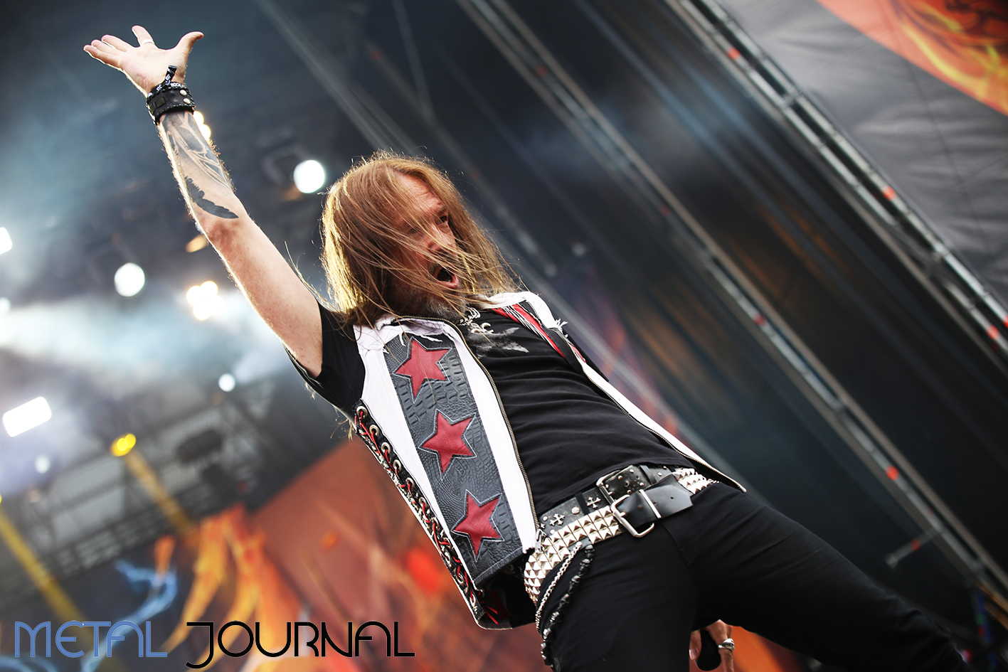 hammerfall - metal journal rock fest barcelona 2019 pic 6