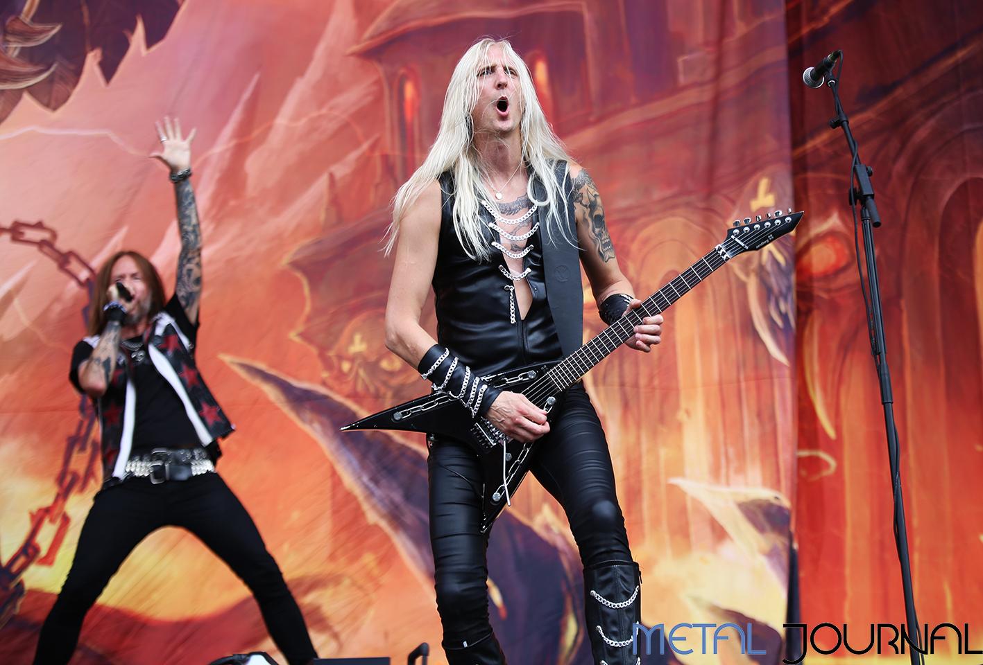 hammerfall - metal journal rock fest barcelona 2019 pic 7
