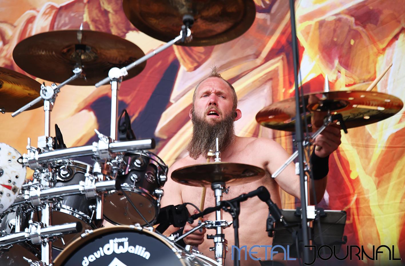 hammerfall - metal journal rock fest barcelona 2019 pic 8