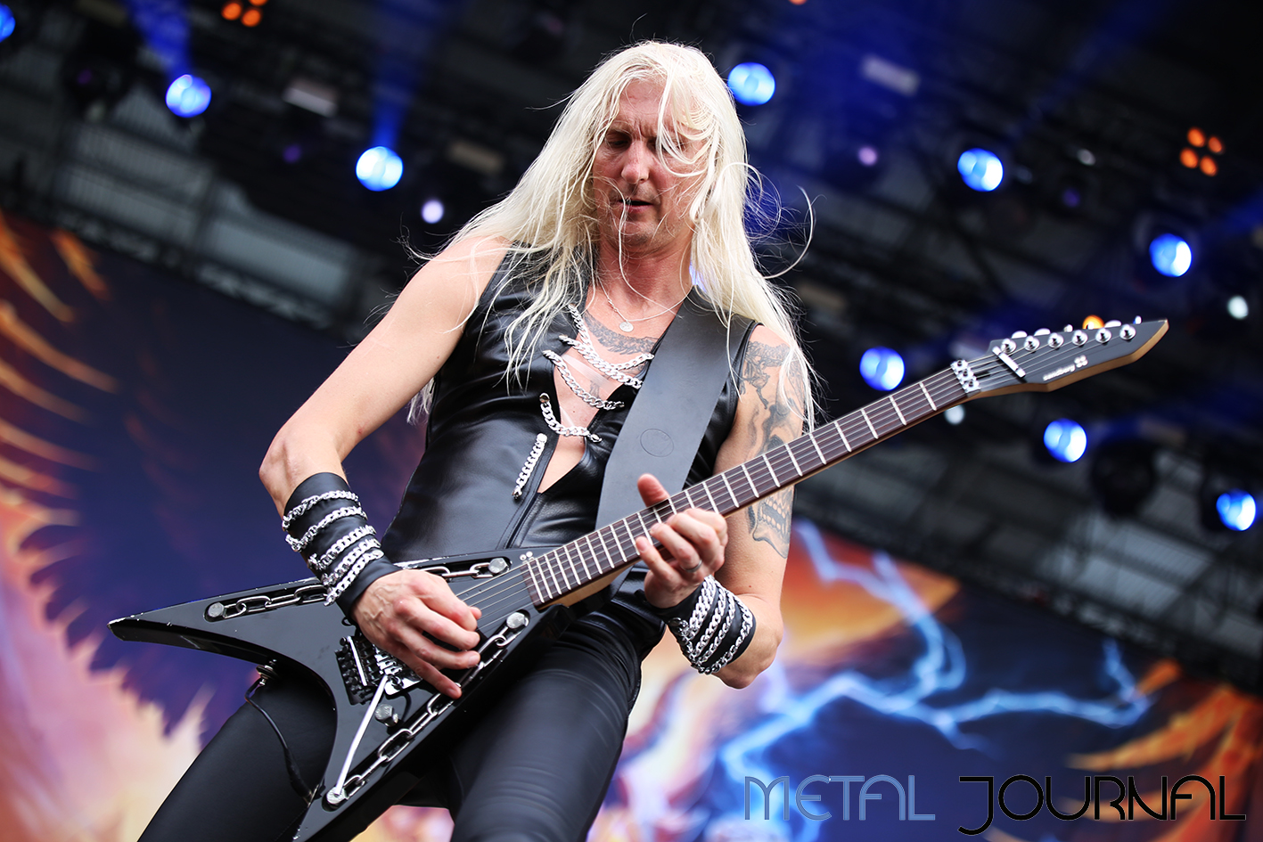 hammerfall - metal journal rock fest barcelona 2019 pic 9
