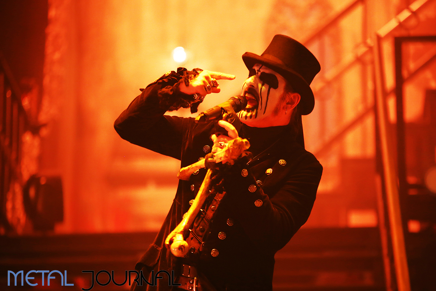 king diamond - metal journal rock fest barcelona 2019 pic 5