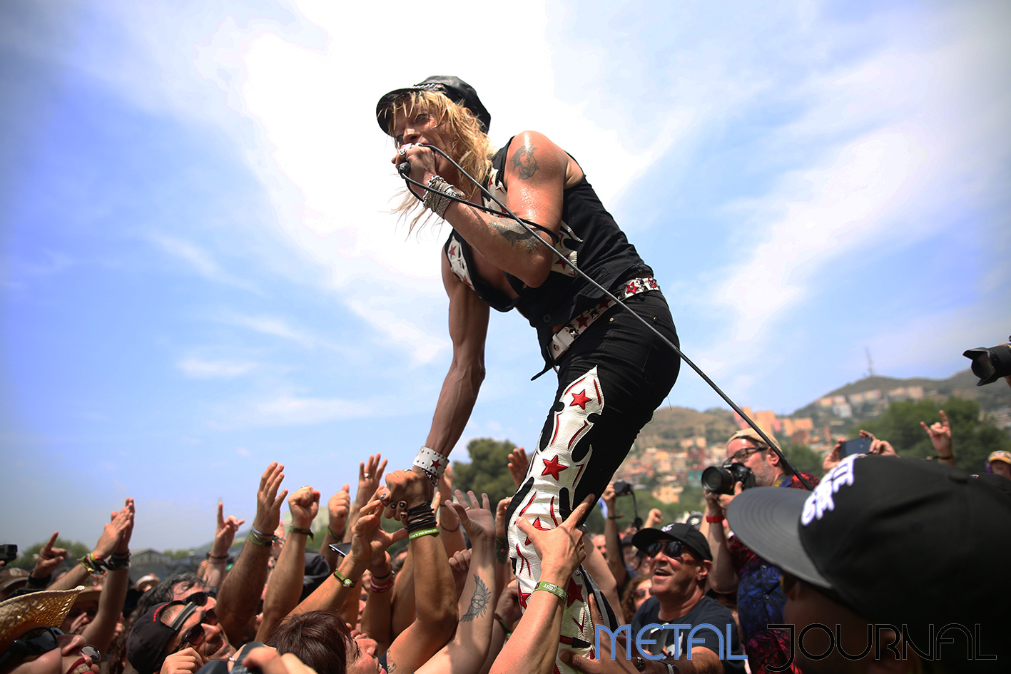 michael monroe - metal journal rock fest barcelona 2019 pic 1