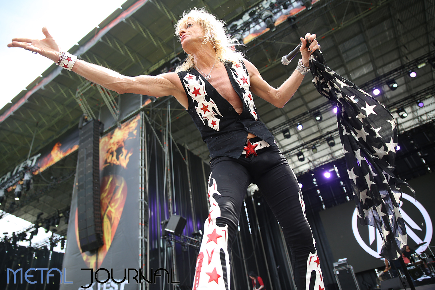 michael monroe - metal journal rock fest barcelona 2019 pic 3