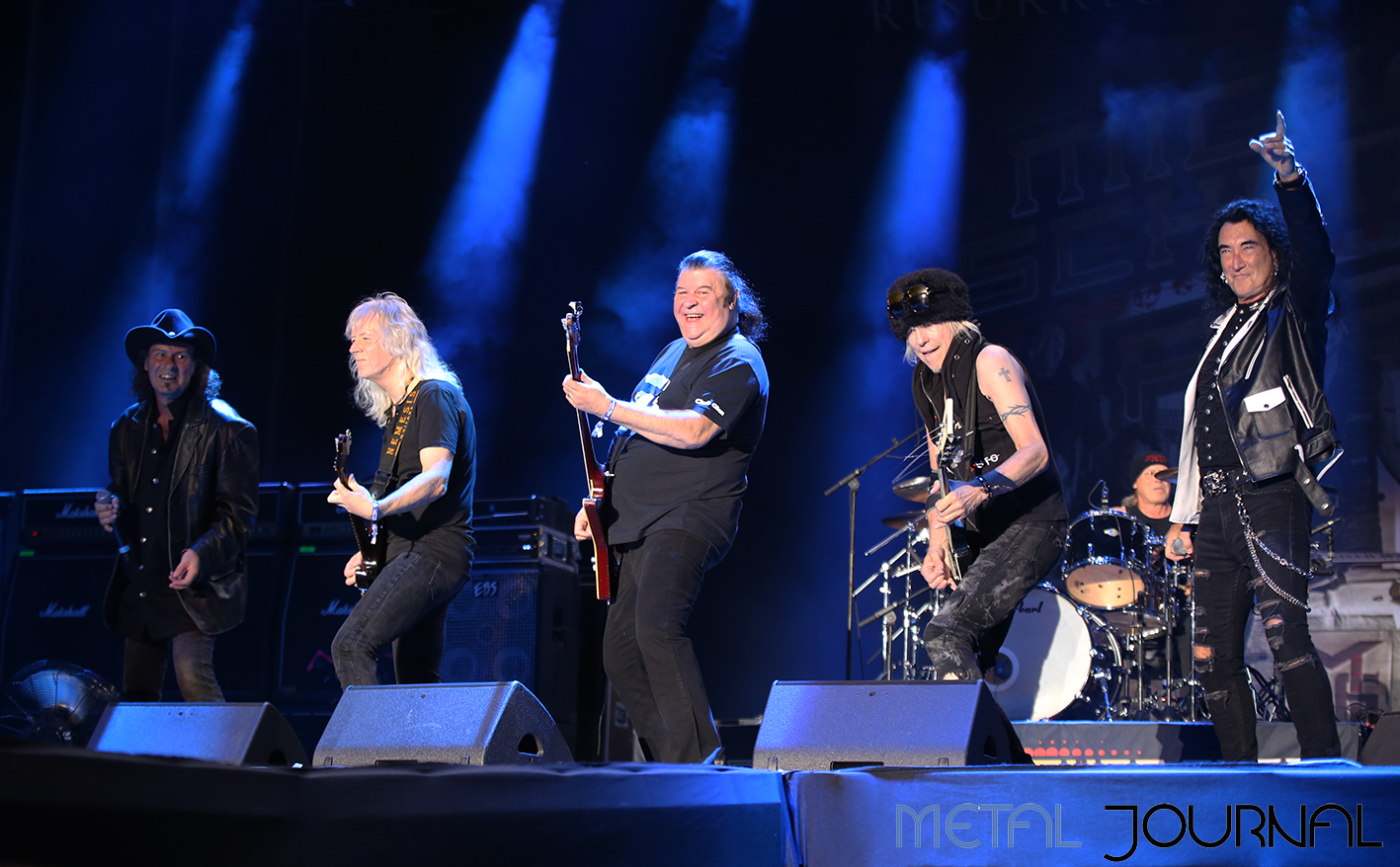 michael schenker fest - metal journal rock fest barcelona 2019 pic 2