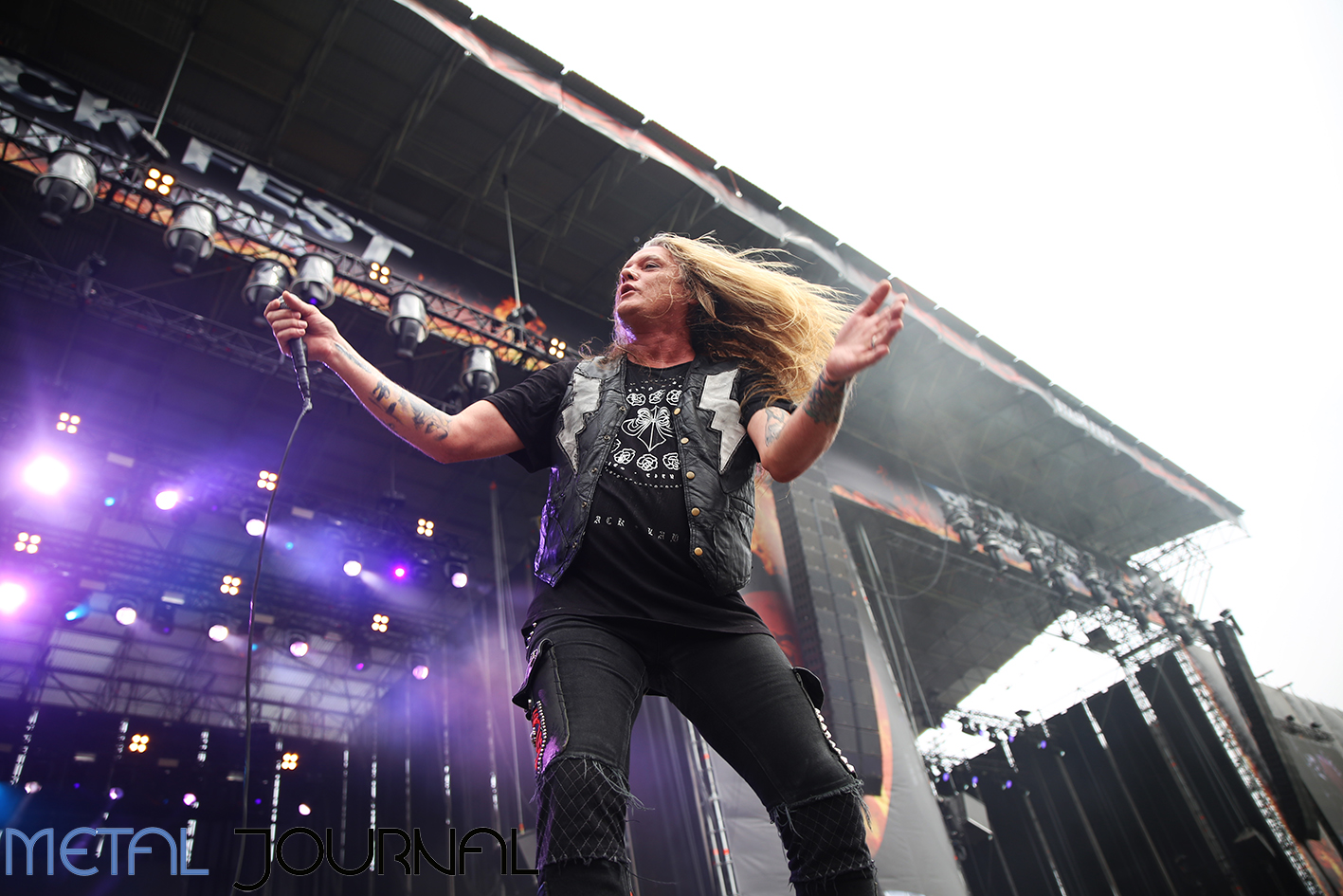 sebastian bach - metal journal rock fest barcelona 2019 pic 1