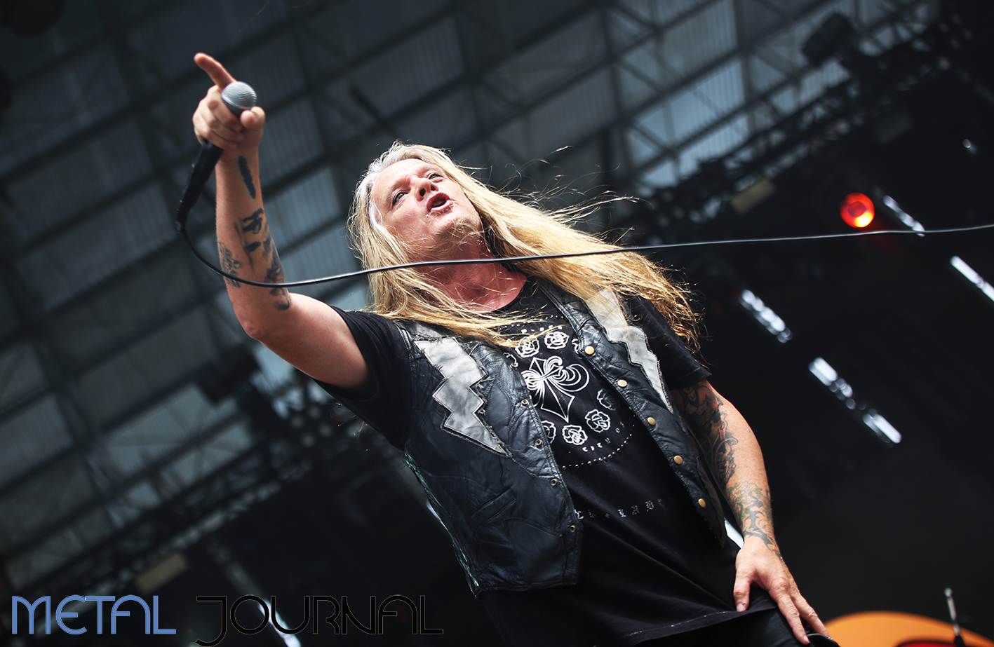 sebastian bach - metal journal rock fest barcelona 2019 pic 5