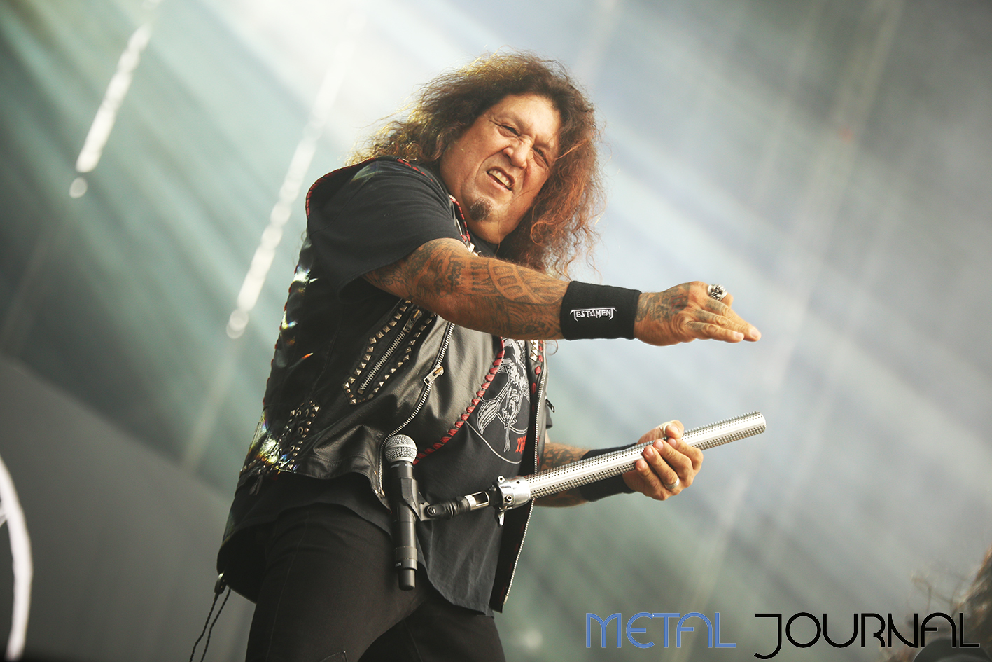 testament - metal journal rock fest barcelona 2019 pic 2