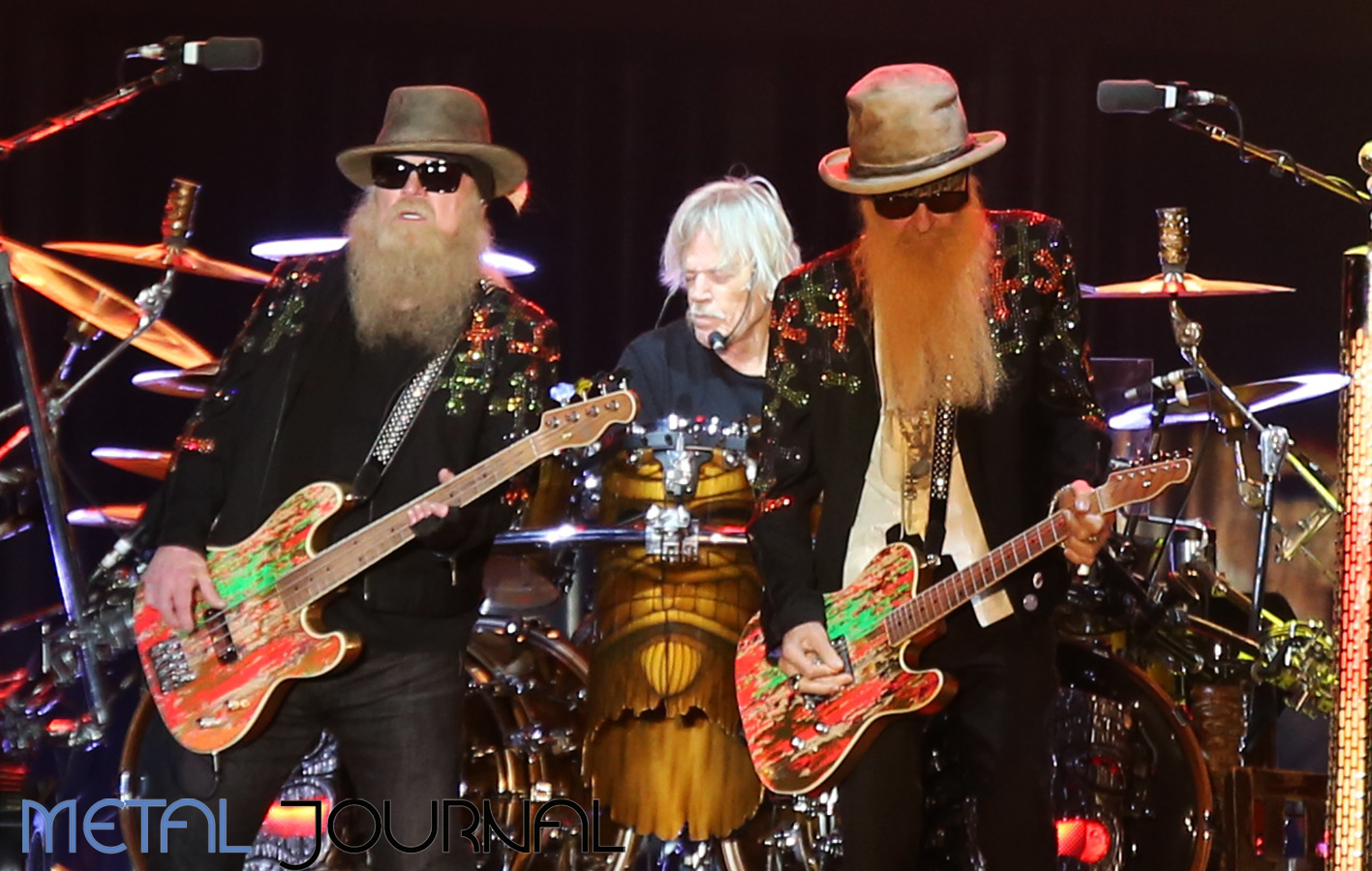 zz top- metal journal rock fest barcelona 2019 pic 8