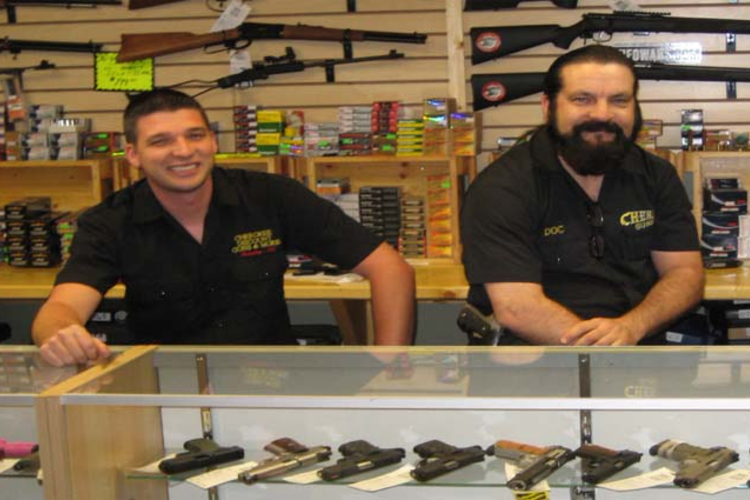 cherokee guns