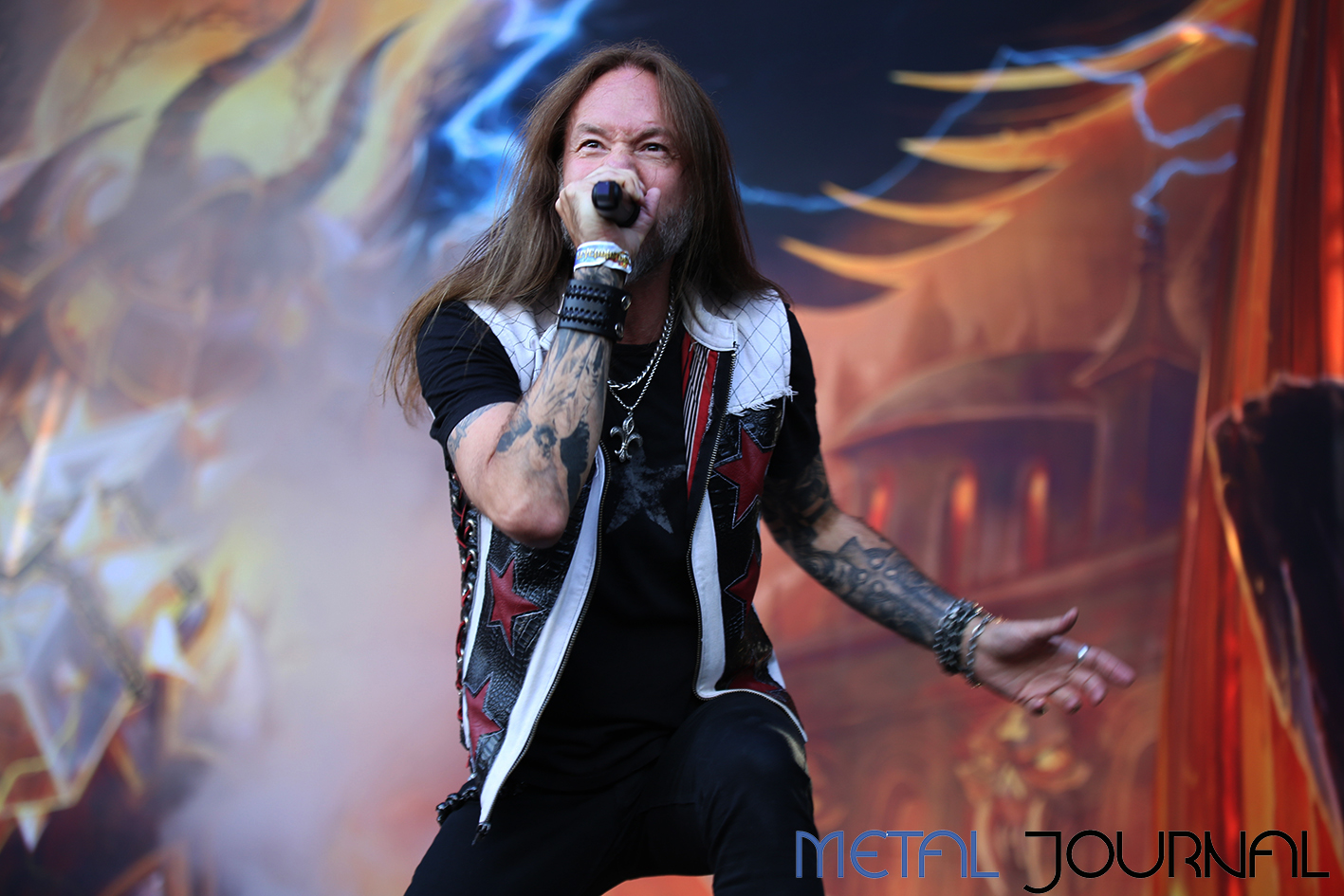 hammerfall - leyendas del rock 2019 metal journal pic 1