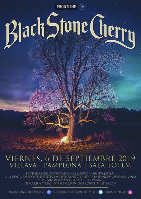 black stone cherry villava