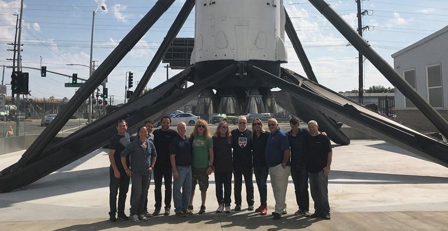 iron maiden - spacex