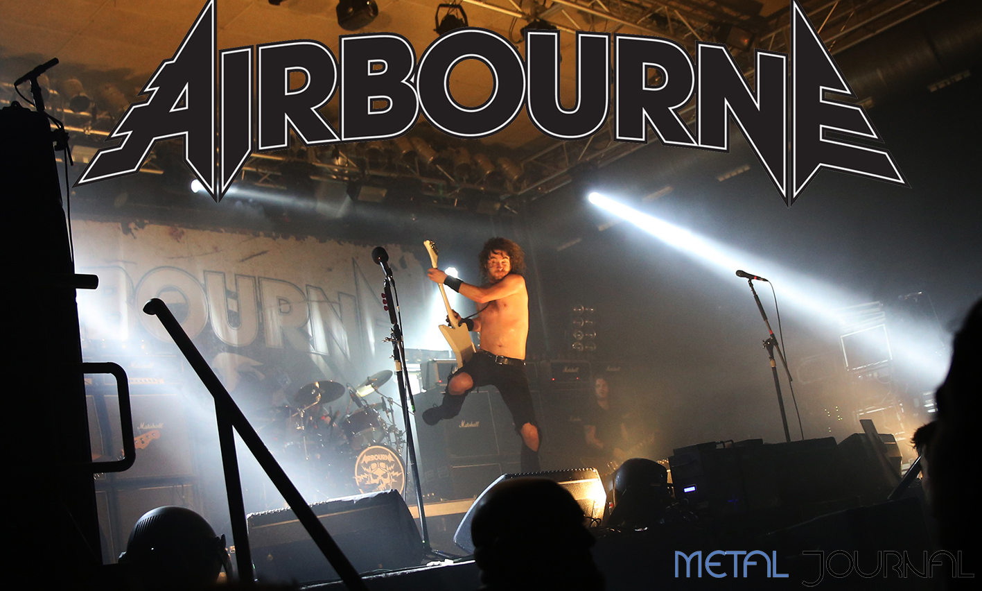 airbourne entrevista - metal journal 2019 pic 4