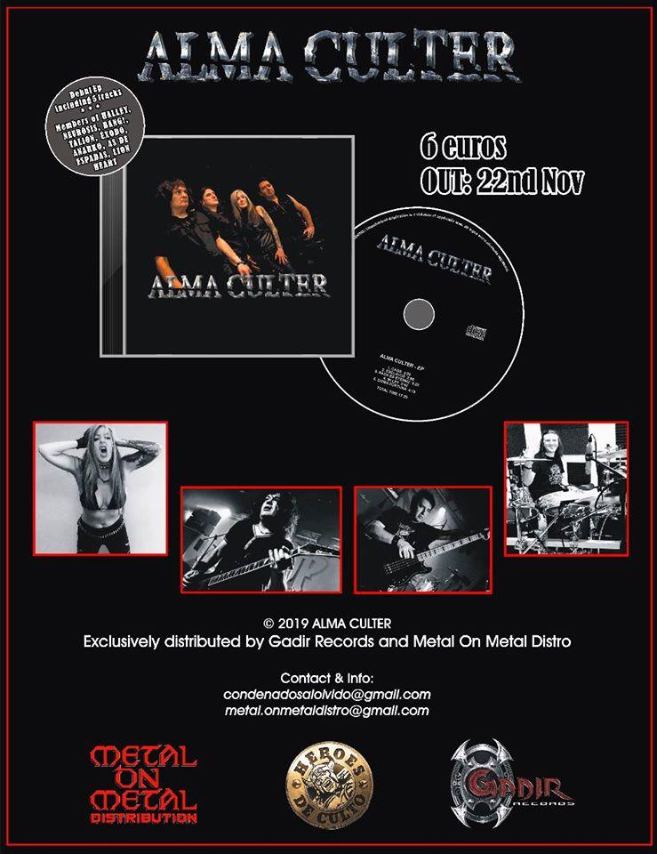 alma culter cd