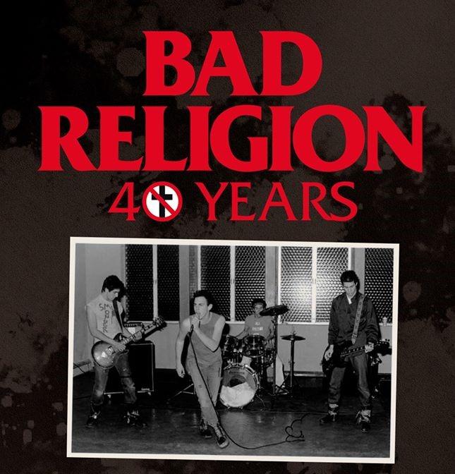bad religion 40 años