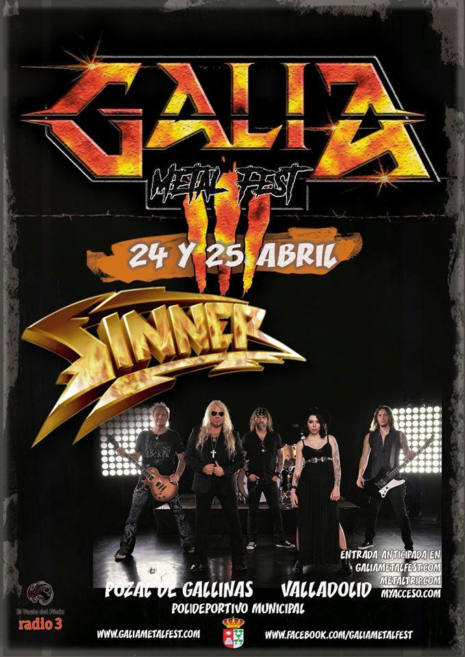 galia metal fest sinner