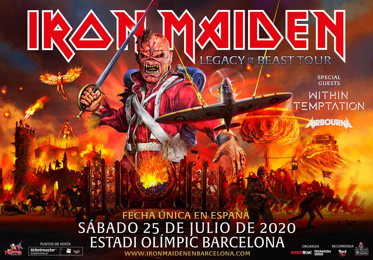 iron maiden barcelona