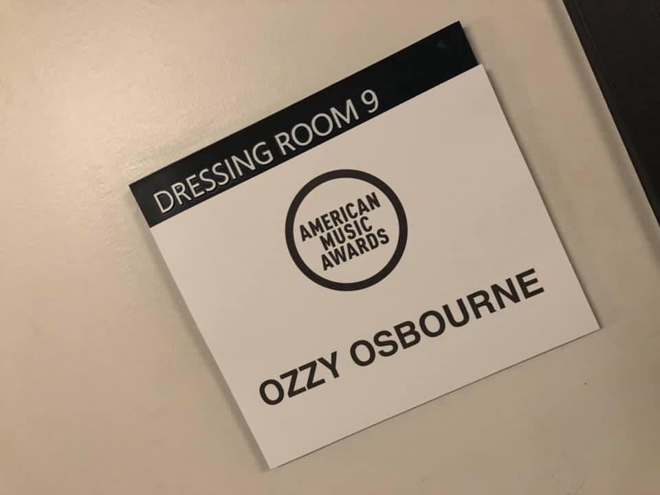ozzy american music awards