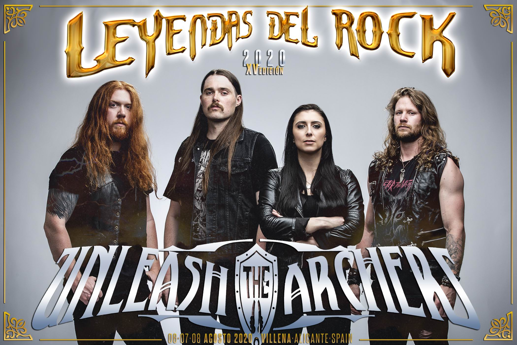 Unleash the Archers - leyendas