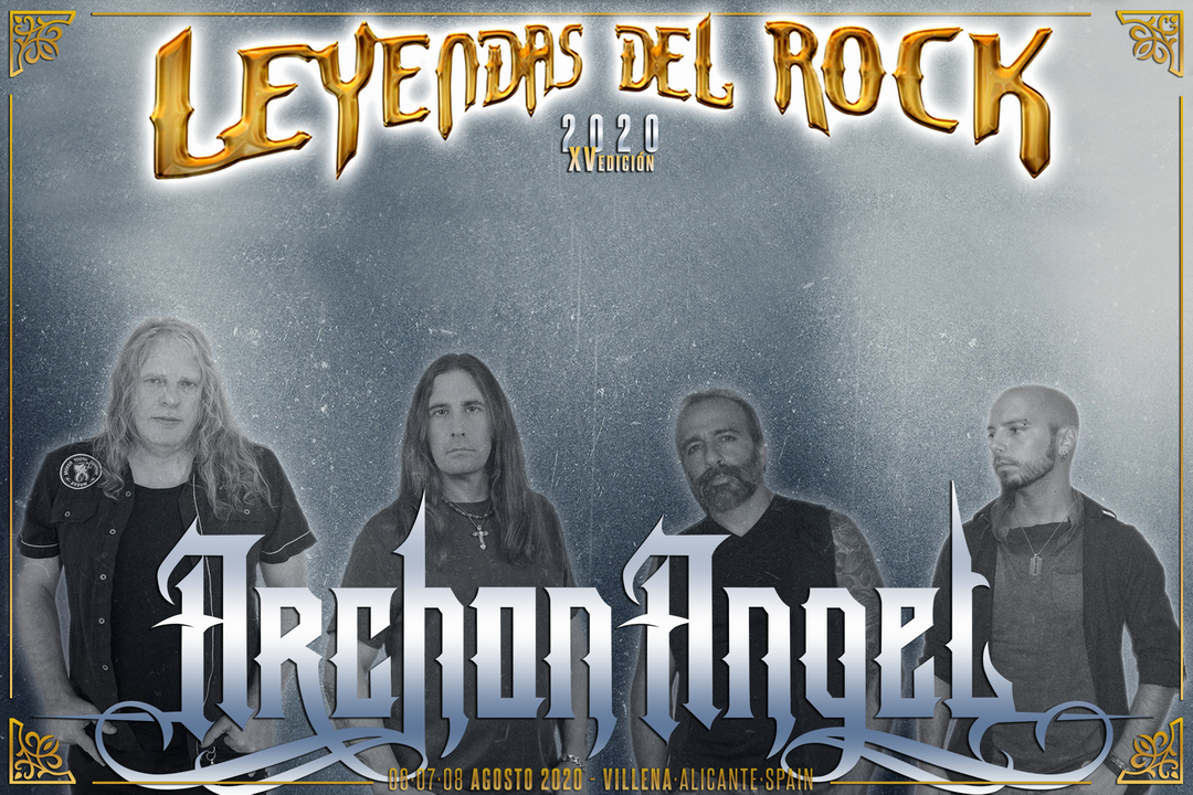 archon angel - leyendas del rock