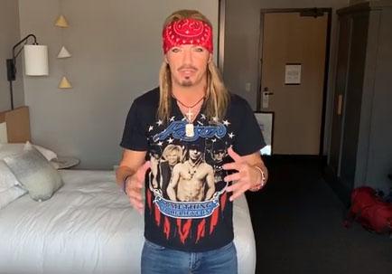 Bret Michaels, integrante de Poison, padece cáncer de piel