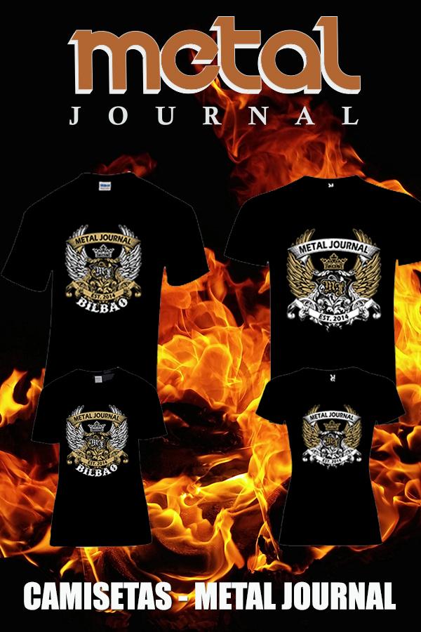 camisetas metal journal - vertical pic 1