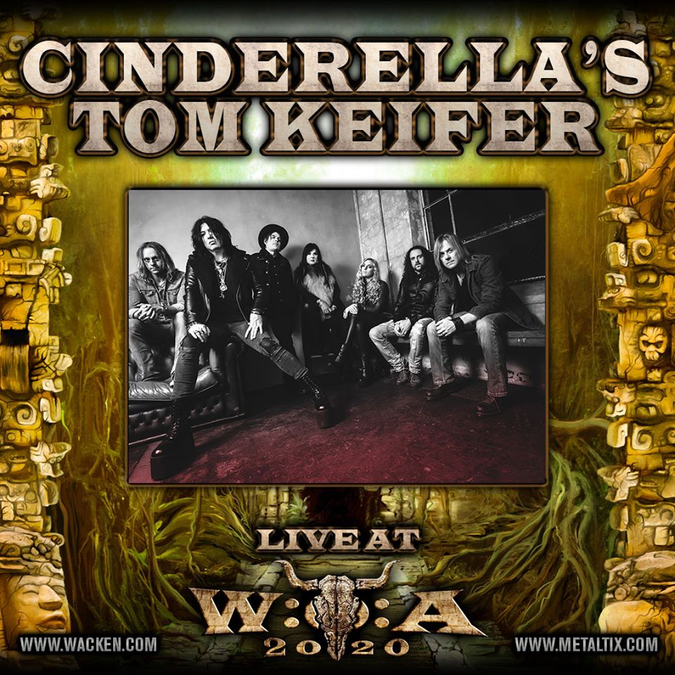 cinderellas tom keifer - wacken