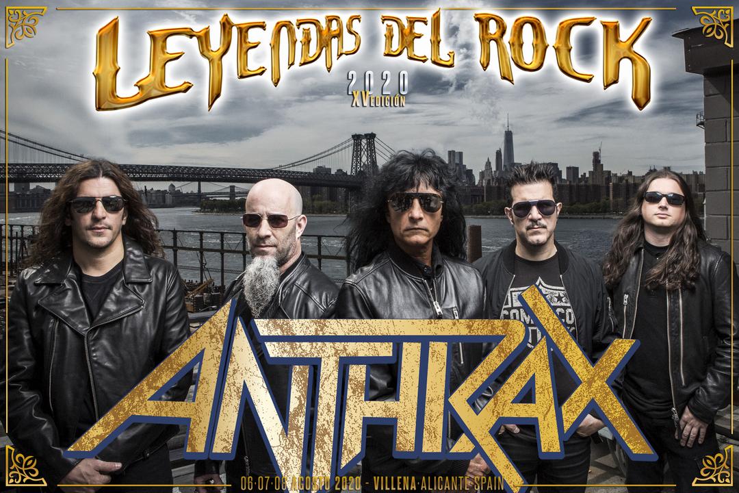 Anthrax leyendas