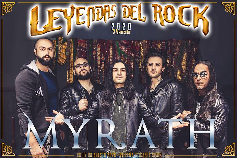 leyendas del rock 2020 - myrath