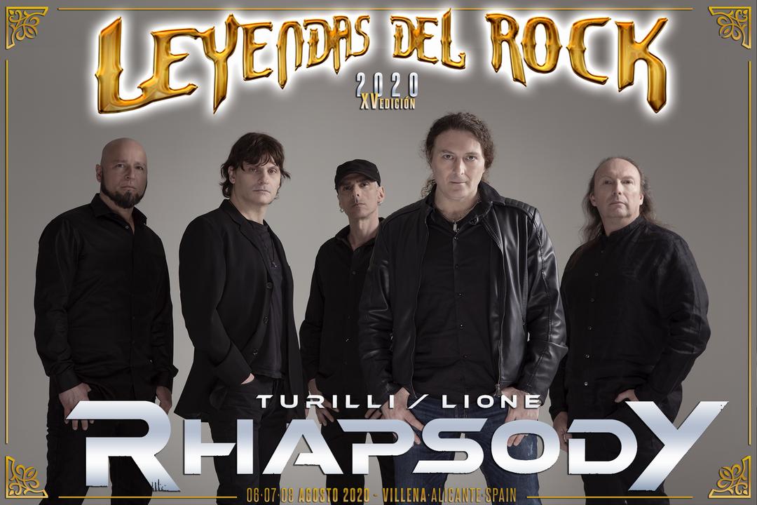 rhapsody - leyendas del rock 2020