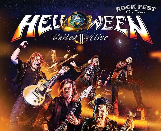 helloween gira españa