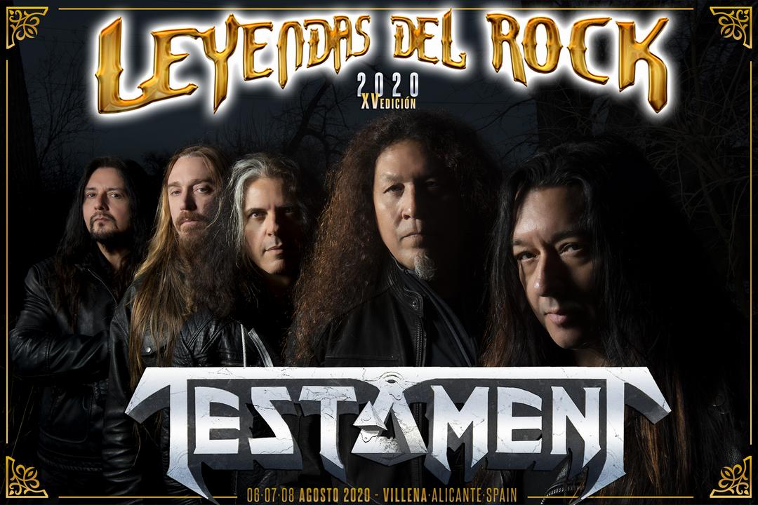testament - leyendas 2020