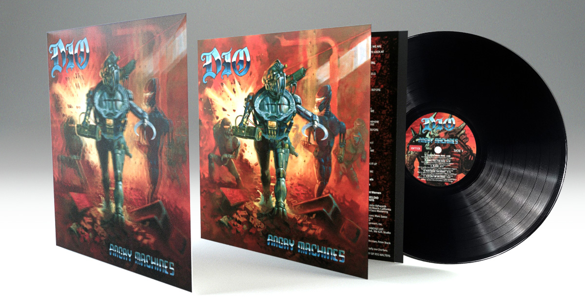 dio angry machines vinilo