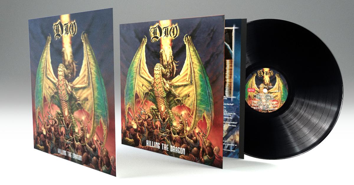 dio killing the dragon vinilo
