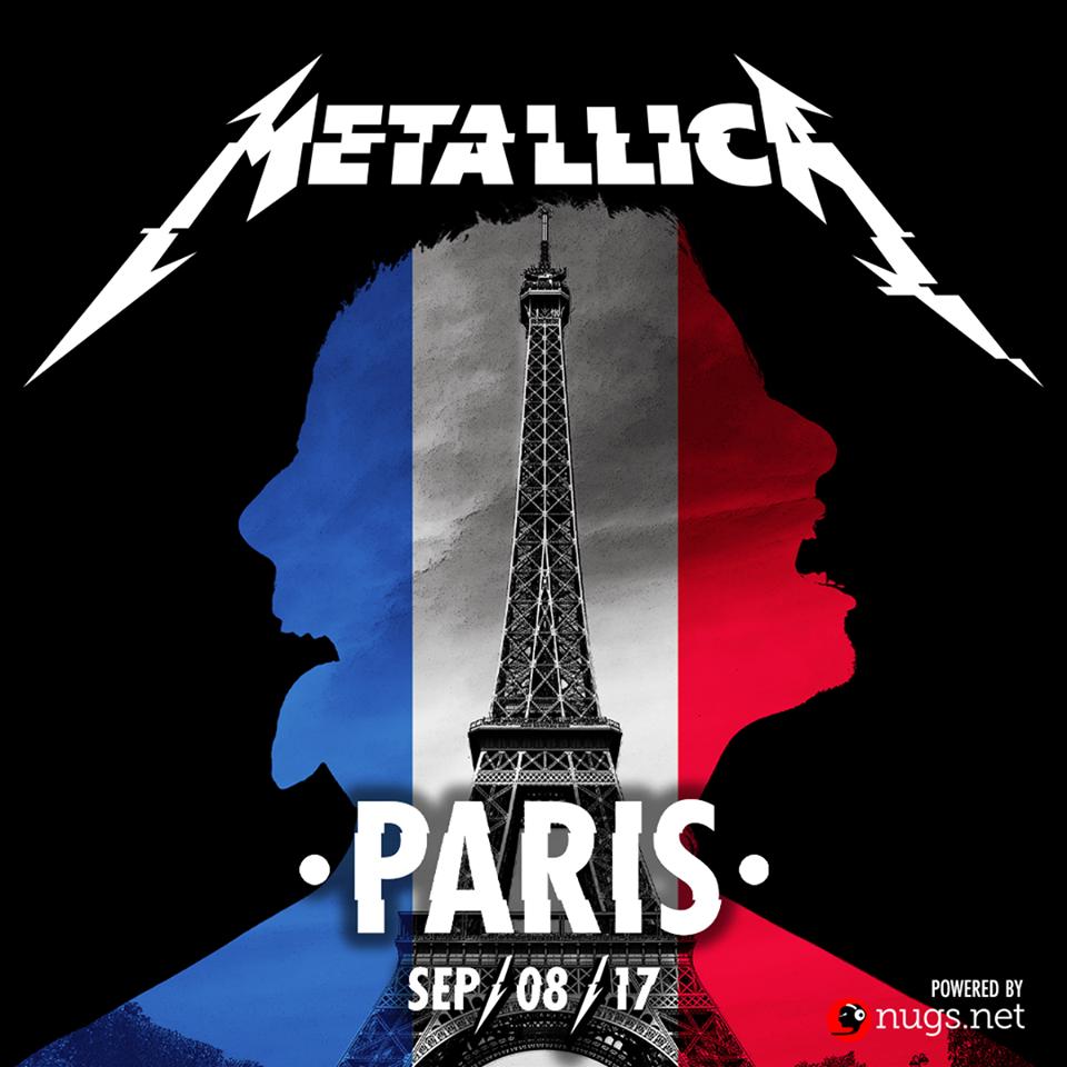 metallica - paris 2017