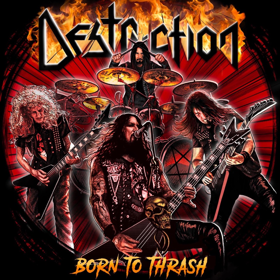 destruction - born to thrash