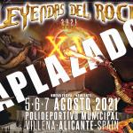leyendas 2020 aplazado
