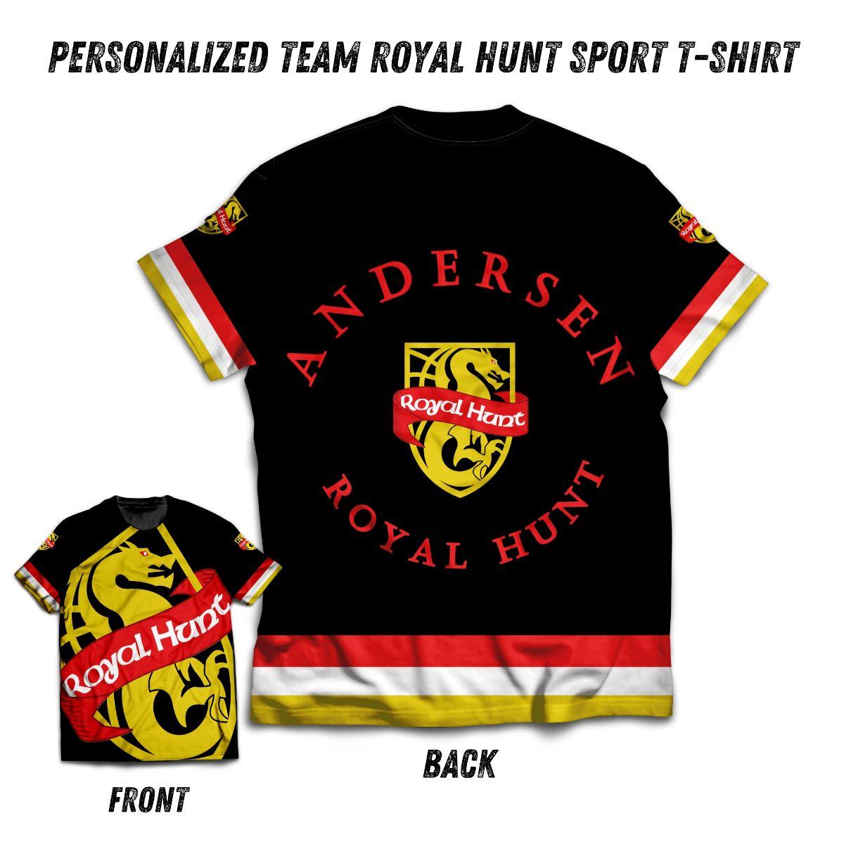 royal hunt camiseta deportiva pic 1