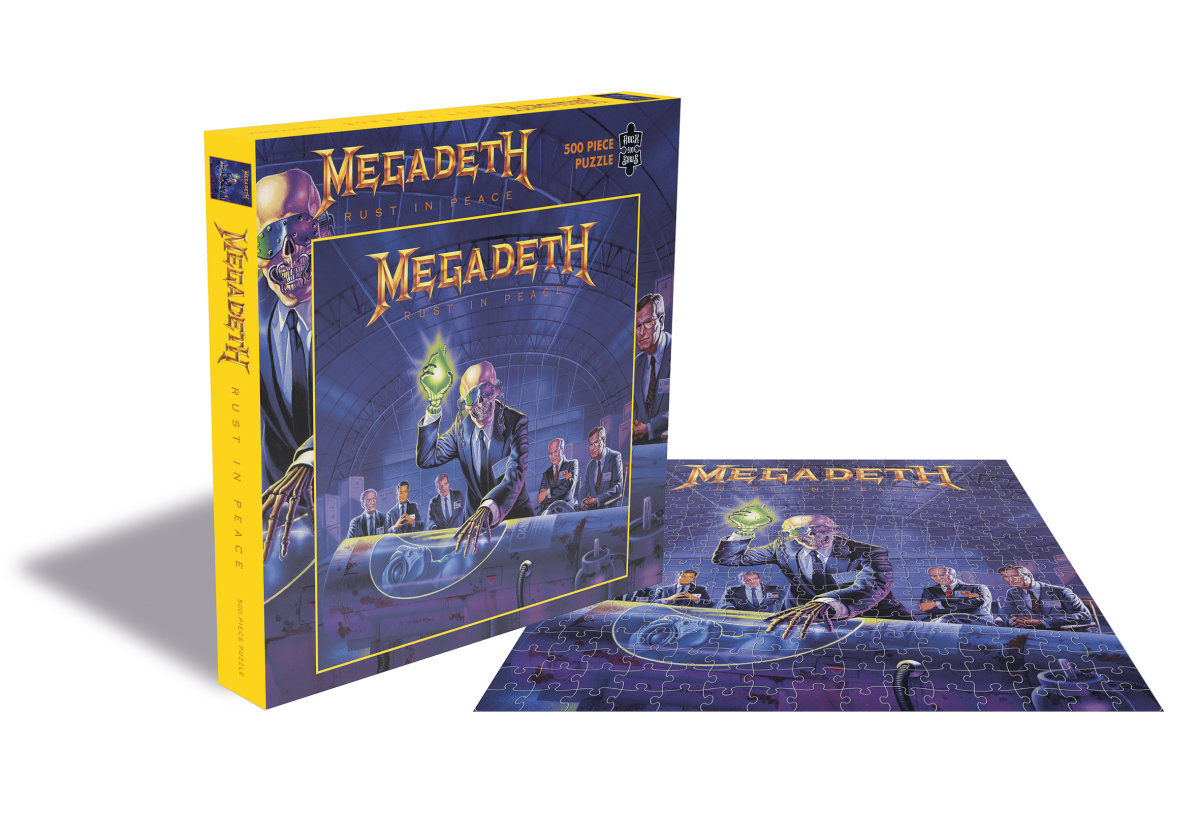 megadeth - puzle rust in peace