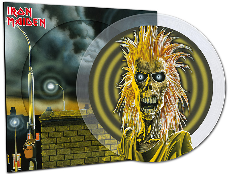 iron maiden - picture disc