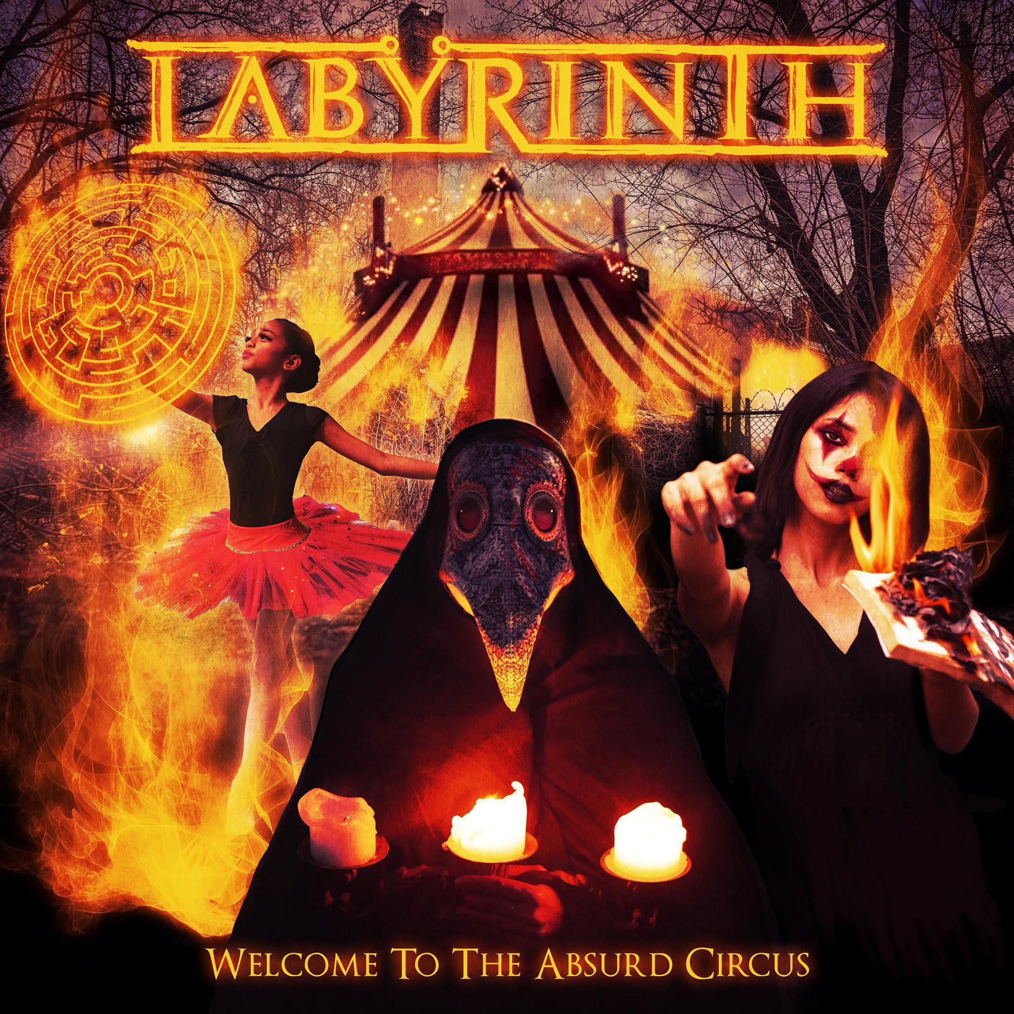 labyrinth - wecolme to the absurd circus