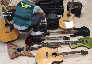 instrumentos - guardia civil cantabria