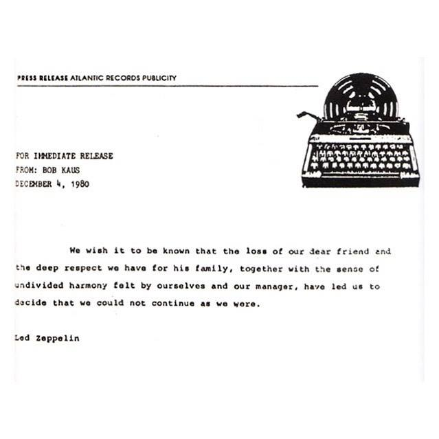 led zeppelin - comunicado pic 1