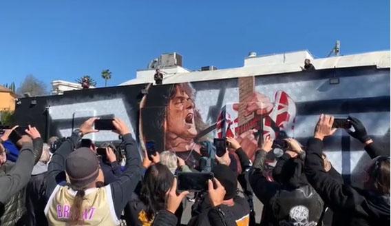 mural van halen pic 2