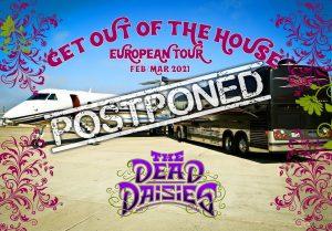 the dead daisies - gira 2021
