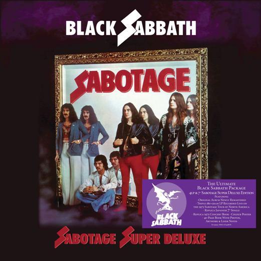 black sabbath - sabotage deluxe