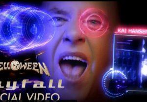 helloween - skyfall videoclip